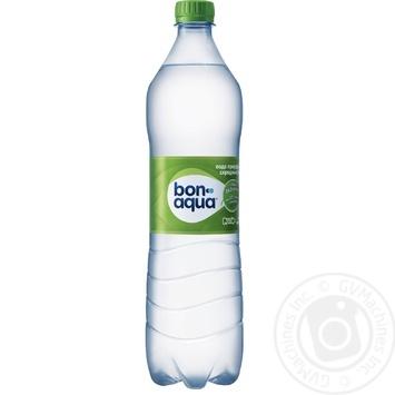 Вода Бонаква среднегазированная 1000мл пластиковая бутылка