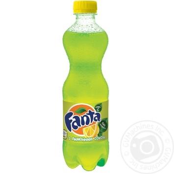 Fanta with lemon juice 500ml