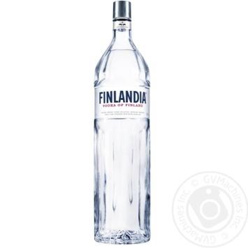 Vodka Finlandia 40% 3000ml glass bottle
