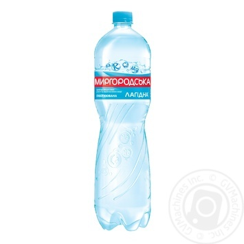 Мінеральна вода Миргородська Лагідна природна слабогазована 1,5л