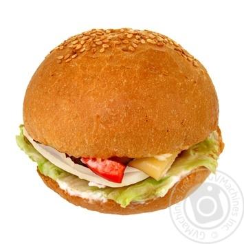 Гамбургер с курицей