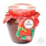Puree Pan tomatov strawberry 550g glass jar