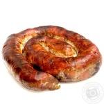 Ковбаса Домашній свинина печена