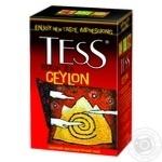 Черный чай Тесс Цейлон цейлонский байховый 100г Украина