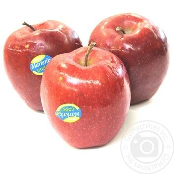 Яблоко Рeд Чиф диаметр 85+ импорт - купить, цены на Novus - фото 1