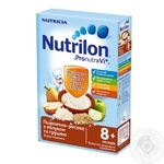 Каша пшеница-рис Nutrilon молочная с ябл и грушей 225г