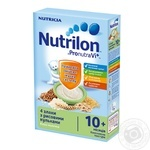 Pap Nutrilon grains with rice balls for children from 10 months 225g