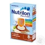 Каша молочная Nutrilon 7 злаков с яблоком 225г