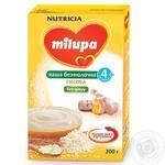 Каша Мілупа рис безмолочна для дітей з 4 місяців 200г Польща