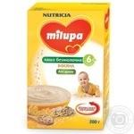 Каша детская Нутриция Милупа безмолочная овсяная без сахара с 6 месяцев 200г