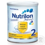 Milk formula Nutrilon Nutricia 2 Immunofortis for 6 to 12 months babies 400g
