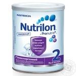 Milk formula Nutrilon Nutricia 2 Immunofortis hypoallergenic for 6 to 12 months babies 400g