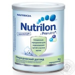 Milk formula Nutrilon Nutricia for premature babies and low birth weight babies from birth can 400g The Netherlands