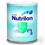 Суміш молочна Нутриція Нутрилон Антірефлюкс суха зменшує зригування для дітей з народження залізна банка 400г Нідерланди