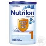 Суміш молочна Нутриція Нутрилон 1 суха з пребіотиками для дітей з 0 до 6 місяців 800г Голландія