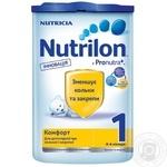 Суміш молочна Нутриція Нутрилон 1 Комфорт суха дитяча з 0 до 6 місяців 800г Голландія