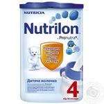 Сухе молоко Нутриція Нутрилон 4 для дітей з 18 місяців залізна банка 800г Нідерланди