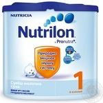 Суміш молочна Нутриція Нутрилон 1 Пронутра+ суха для дітей з 0 до 6 місяців 350г Голландія