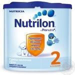 Суміш молочна Нутриція Нутрилон 2 Пронутра+ суха для дітей з 6 до 12 місяців 350г Голландія