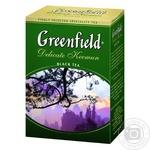 Black tea Greenfield Delicate Keemun big leaf 100g Ukraine