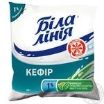 Kefir Bila liniya 1% sachet 400g Ukraine