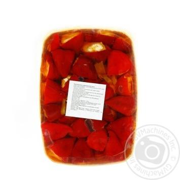 Овощи перец консервированная