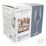Glass Arcoroc for wine 6pcs 270ml