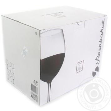 Фужери для червоного вина Pasabahce Enoteca 44228 6шт