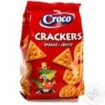 Cracker Croco Private import with taste of cheese 100g - buy, prices for Novus - image 4