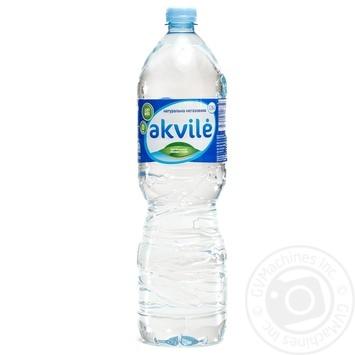 Вода натуральна мінеральна негазована Akvile пет 1,5л - купить, цены на Novus - фото 1