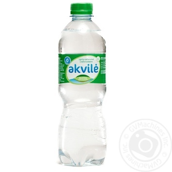 Water Akvile Private import mineral 500ml plastic bottle - buy, prices for Novus - image 1
