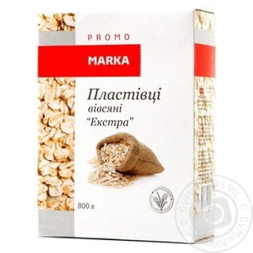 Oat Marka promo Extra oat 800g cardboard packaging - buy, prices for Novus - image 5