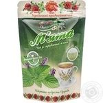 Tea Polissia tea Mint 25х1.5g teabags Ukraine