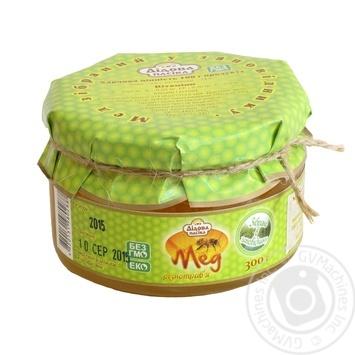 Мед різнотрав'я Дідова пасіка із заповідника 300г - купити, ціни на Восторг - фото 1