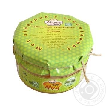 Мед різнотрав'я Дідова пасіка із заповідника 300г - купити, ціни на Восторг - фото 2