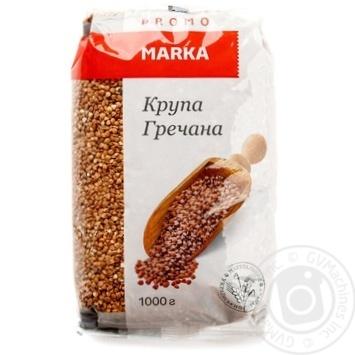 Крупа гречневая Marka Promo 1кг - купить, цены на Novus - фото 1