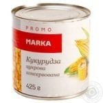 Vegetables corn Marka promo canned 425g can - buy, prices for Novus - image 1