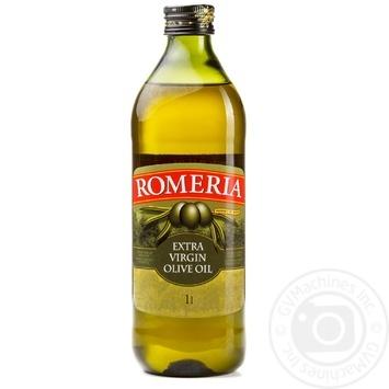 Масло оливковое Romeria нерафинированное первого холодного отжима 1л - купить, цены на Novus - фото 1