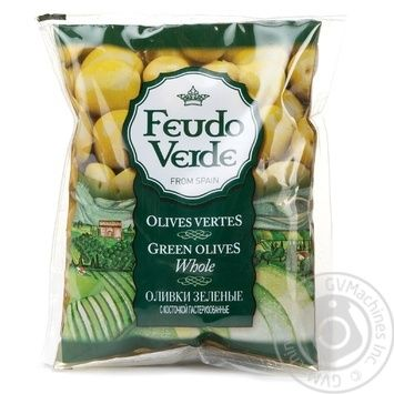 olive Feudo verde Private import with bone 170g - buy, prices for Novus - image 1