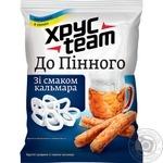 Сухарики До пінного зі смаком кальмара Lays's Max Хрусteam 35г