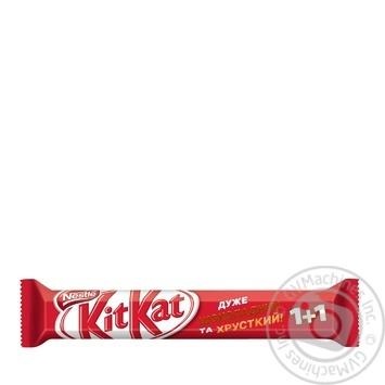 Скидка на Вафли Nestle Kit-Kat в молочном шоколаде 70г Болгария