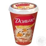Cottage cheese dessert Dolce Oriental fairy tale 4% plastic cup 400g Ukraine