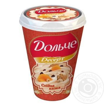 Десерт творожный Дольче Восточная сказка 4% пластиковый стакан 400г Украина