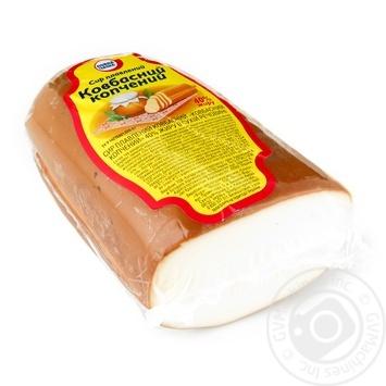 Сыр колбасный Повна чаша копченые 40%