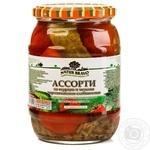 Vegetables tomato Natur bravo Private import sterilized 720ml