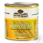 Vegetables corn Natur bravo Private import sterilized 425ml