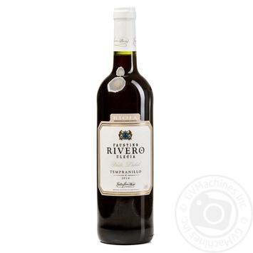 Вино Faustino Rivero Ulecia White Label Tempranillo Rioja DOC 12,5% 0,75л