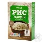 Рис Novus Жасмин шлифованный в пакетиках 5*80г
