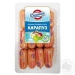 Сосиски вареные Карапуз 1/с 350г Юбилейный