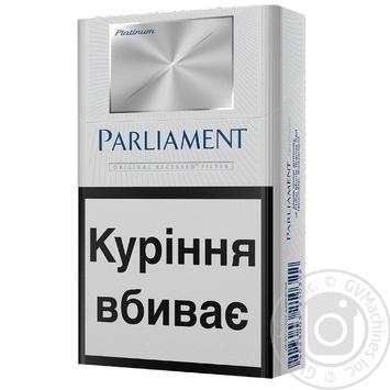 Сигареты Parliament platinum - купить, цены на Таврия В - фото 1
